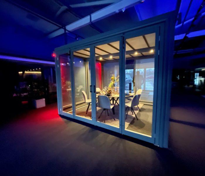 Espace privatif pour l'horeca, les hotels et restaurants pro Covid